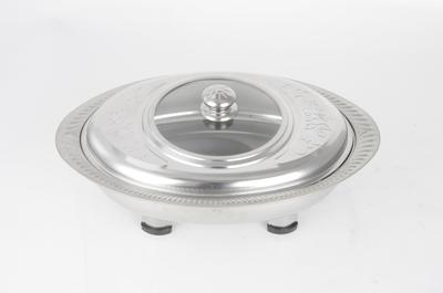 Stainless Steel 41*28cm Oval Furnace RGS-TC0005